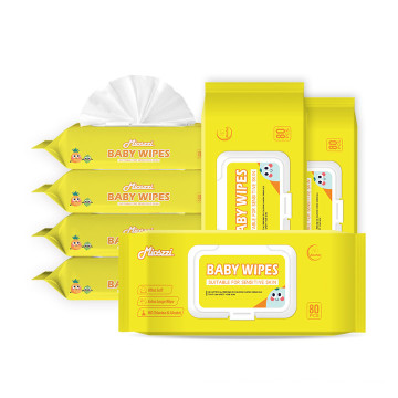 Soft Touch Alcohol Free Baby Cleaning Wipes